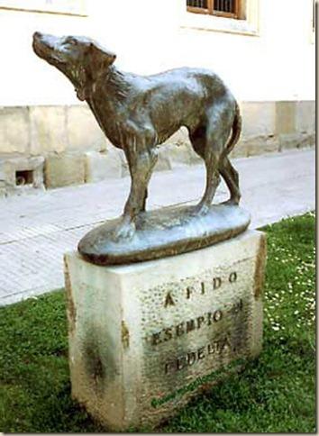 Пес Фидо, памятник