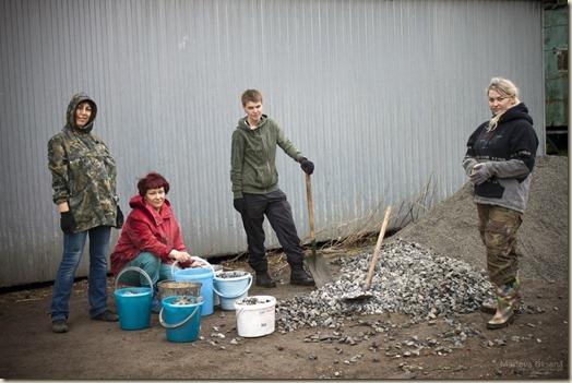Щебень, субботник и волонтеры