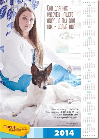 Календарь приюта 001