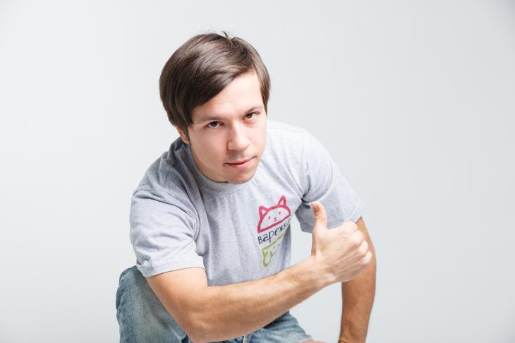 волонтёр Илья