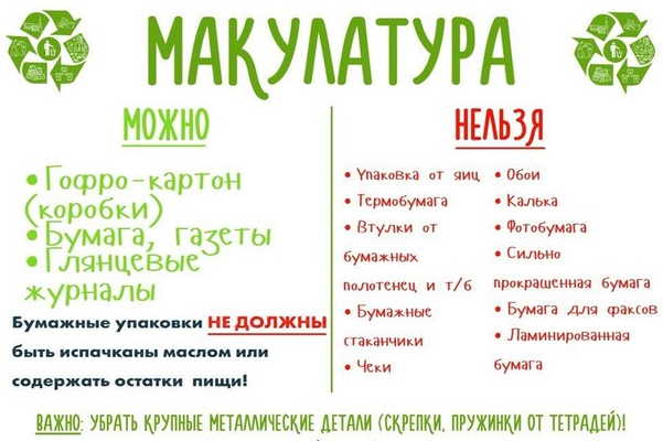 Sbor makulatury 1